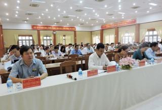 Châu Thành triển khai Nghị quyết Đại hội Đảng bộ huyện nhiệm kỳ 2020 - 2025