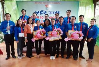 Nguyễn Thị Kim Thoa đoạt giải nhất hội thi cán bộ  Đoàn cơ sở giỏi