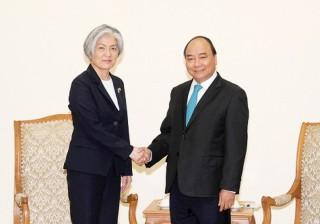 Hôm nay, Bộ trưởng Ngoại giao Hàn Quốc Kang Kyung Wha đến Hà Nội