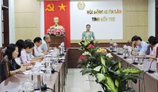 HĐND tỉnh thông qua dự thảo báo cáo giám sát
