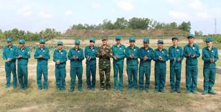 Ban Chỉ huy Quân sự xã Hòa Lộc thực hiện tốt phong trào thi đua Quyết thắng