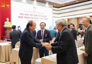Thủ tướng dự Đại hội Thi đua yêu nước Mặt trận Tổ quốc Việt Nam