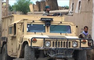 Không quân Afghanistan không kích Taliban