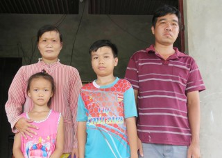 Gia đình nghèo có 3 người bệnh