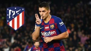 Suarez chính thức gia nhập Atletico Madrid