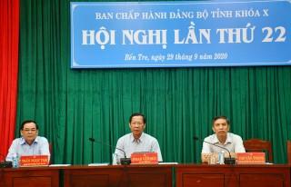 Thông báo kết quả Hội nghị lần thứ 22 Ban Chấp hành Đảng bộ tỉnh khóa X