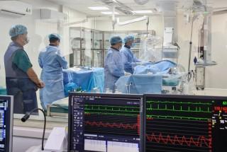 Bệnh viện Nguyễn Đình Chiểu đưa vào sử dụng hệ thống máy chụp mạch DSA và máy CT-Scanner 128 lát cắt