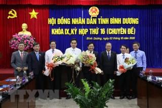 Bầu bổ sung Chủ tịch, Phó chủ tịch tỉnh Bình Dương nhiệm kỳ 2016 - 2021