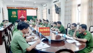 Hội nghị Ban Chấp hành Đảng bộ Công an tỉnh lần thứ 2