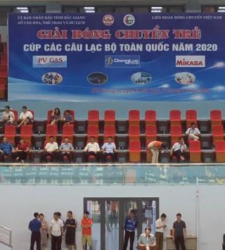 Khai mạc giải bóng chuyền trẻ cúp CLB toàn quốc năm 2020: Tiếp nối thành công