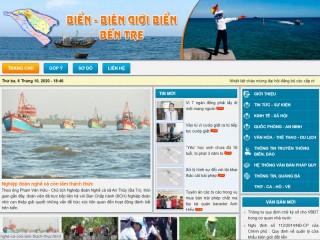 Mời cộng tác tin, bài cho website Biển - Biên giới biển Bến Tre