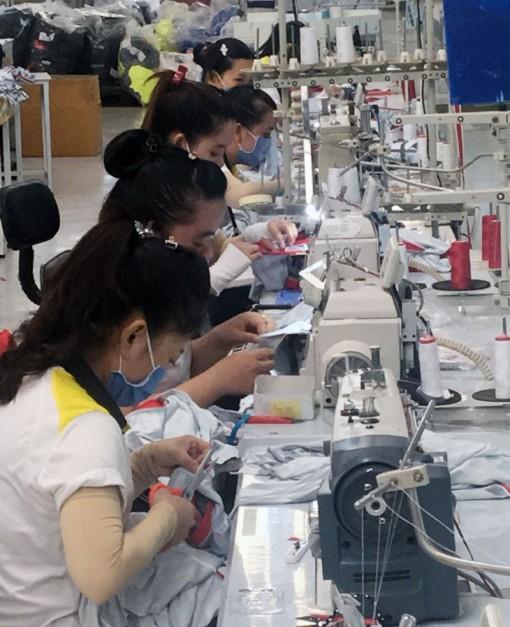 Gen Nex Apparel ổn định việc làm cho người lao động trong mùa dịch