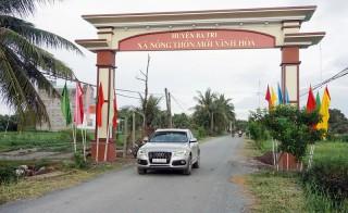 Vĩnh Hòa đón nhận danh hiệu xã nông thôn mới