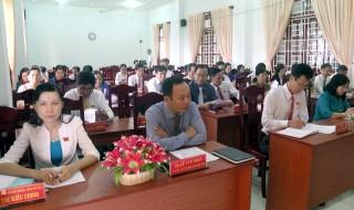 HĐND huyện Giồng Trôm tổ chức Kỳ họp lần thứ 17
