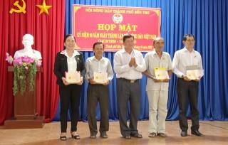 TP. Bến Tre họp mặt kỷ niệm 90 năm Ngày thành lập Hội Nông dân Việt Nam