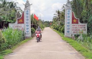 Xã Hưng Lễ hoàn thành nhiều công trình cầu đường nông thôn