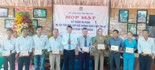 Hội Nông dân tỉnh họp mặt 90 năm Ngày thành lập Hội