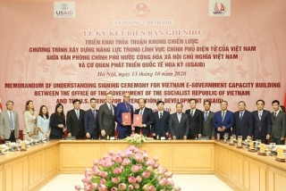 VPCP và USAID hợp tác trong xây dựng Chính phủ điện tử