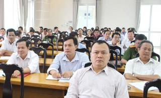 Hội nghị giới thiệu văn bản luật mới