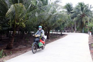Phú Nhuận phấn đấu hoàn thành tiêu chí xã nông thôn mới nâng cao