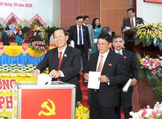 Ban Chấp hành Đảng bộ tỉnh Bến Tre khóa XI, nhiệm kỳ 2020 - 2025