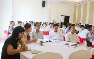 90 giáo viên đào tạo khởi nghiệp đổi mới sáng tạo gắn với phát triển sản phẩm OCOP tỉnh