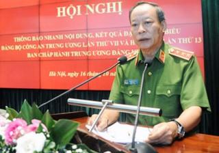 Hội nghị trực tuyến thông báo nhanh kết quả Đại hội đại biểu Đảng bộ Công an Trung ương