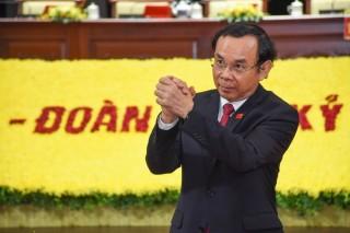Đồng chí Nguyễn Văn Nên được bầu giữ chức Bí thư Thành ủy TP. Hồ Chí Minh