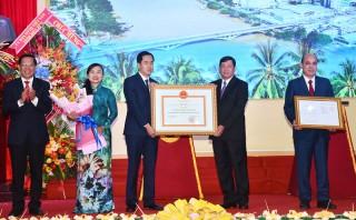 Mít-tinh chào mừng thành công Đại hội đại biểu Đảng bộ tỉnh lần thứ XI nhiệm kỳ 2020 - 2025
