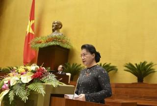Toàn văn phát biểu khai mạc Kỳ họp thứ 10 Quốc hội khóa XIV của Chủ tịch quốc hội Nguyễn Thị Kim Ngân