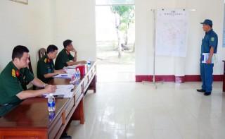 Khai mạc hội thi cán bộ Chỉ huy trưởng Ban Chỉ huy Quân sự xã, phường, thị trấn năm 2020