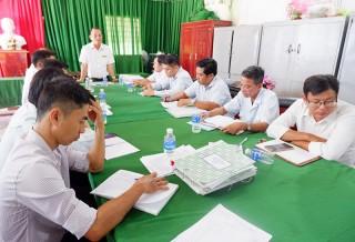 Kiểm tra công tác cải cách hành chính tại xã Giao Thạnh