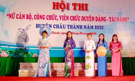 """Hội thi """"nữ cán bộ, công chức, viên chức duyên dáng - tài năng"""" năm 2020"""