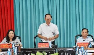 Ban Thường vụ Tỉnh ủy hội nghị đột xuất
