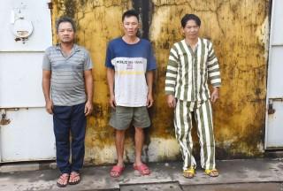 Bắt ba con nghiện trộm máy phát điện