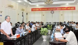 Thống nhất nhận nhức và quyết liệt hành động thực hiện thắng lợi Nghị quyết Đại hội XI Đảng bộ tỉnh, nhiệm kỳ 2020 - 2025