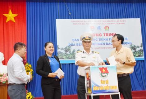 Vận động quyên góp ủng hộ đồng bào miền Trung, Tây Nguyên và hỗ trợ giếng hộc cho người dân Bến Tre
