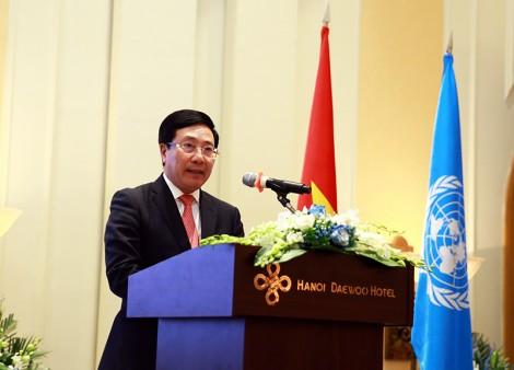 Phó thủ tướng Phạm Bình Minh tham dự lễ kỷ niệm 75 năm thành lập Liên hợp quốc