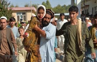 Đánh bom liều chết tại Afghanistan, ít nhất 30 người thương vong