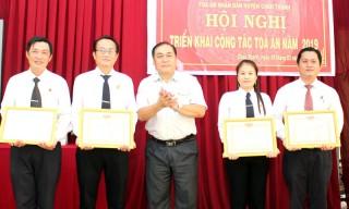 Tòa án nhân dân huyện Châu Thành giải quyết hơn 1,24 ngàn vụ, việc án