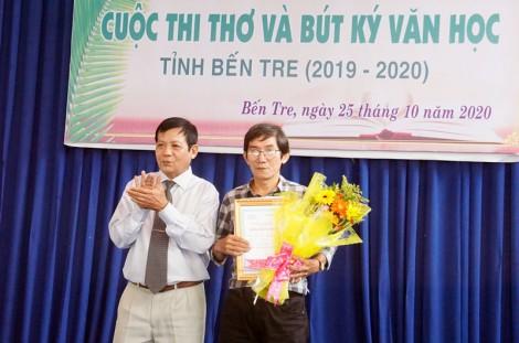Tổng kết Cuộc thi Thơ và Bút ký Văn học tỉnh 2019-2020