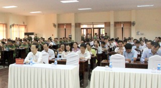 Hội nghị triển khai Luật Bảo vệ bí mật nhà nước