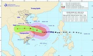 Công điện của Thủ tướng: Khẩn trương ứng phó bão số 9
