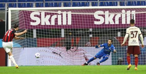 Ibrahimovic lập cú đúp, Milan vẫn lần đầu mất điểm