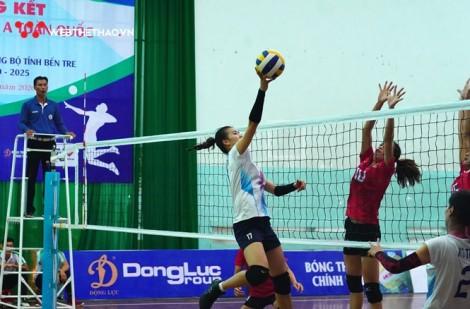 Toàn thắng 4 trận, bóng chuyền nữ Thái Bình không có đối thủ tại giải hạng A toàn quốc