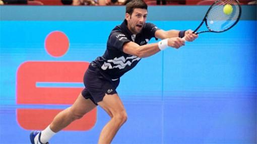 Djokovic thắng nhọc trận ra quân Vienna Mở rộng 2020