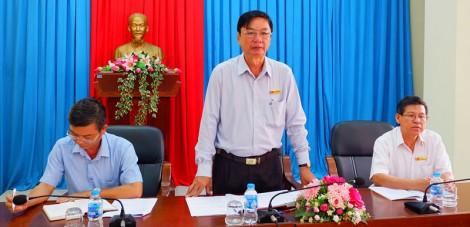 Huyện ủy Thạnh Phú làm việc Ban Chỉ đạo các Chương trình mục tiêu Quốc gia huyện