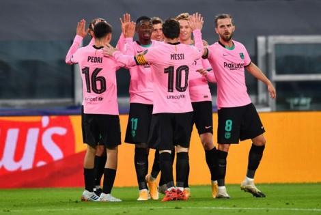 Messi tỏa sáng, Barca hạ đẹp Juventus