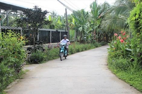 Cựu binh xã Nhơn Thạnh điển hình trong xây dựng nông thôn mới