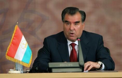 Tân Tổng thống Tajikistan giải tán chính phủ, chuẩn bị lập nội các mới